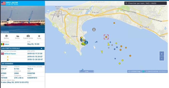 AFFAIRE DU BATEAU MAX JACOB DE DERMOND / Toujours aucun déchargement de brut effectif pour ce navire accosté depuis le 5 mai... Ruée vers les banques pour sauver la face !