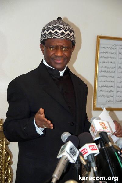 """Serigne Modou Kara : """" Les sénégalais devront  se soumettre à la décision du conseil constitutionnel """""""