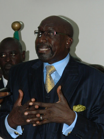 Abdoulaye Makhtar Diop : ''Il ne peut pas y avoir de fédération pour la lutte''