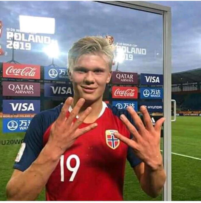 Mondial U20 : Erling Haland marque 9 buts et permet à la Norvège d'exploser le Honduras (12-0)