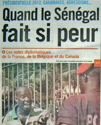 Revue de presse :  ''la Casamance et la présidentielle 2012 préoccupent les Occidentaux''