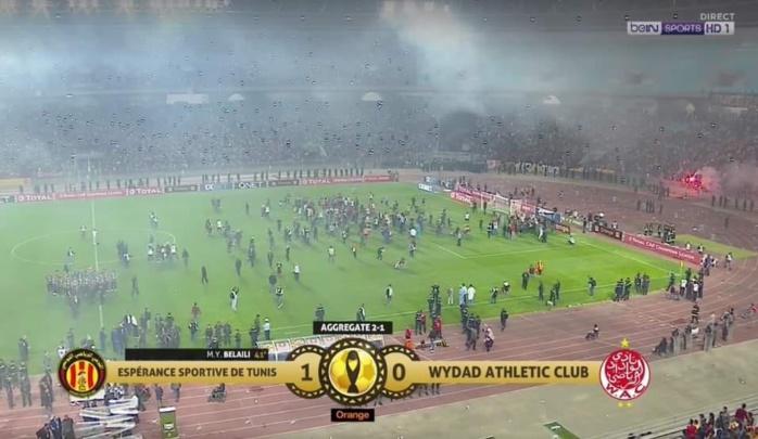 Finale retour de la Ligue des Champions africaine : victoire de l'Espérance de Tunis dans la confusion totale