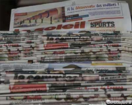 La presse commente la nomination de Soumaré et la limitation des partis
