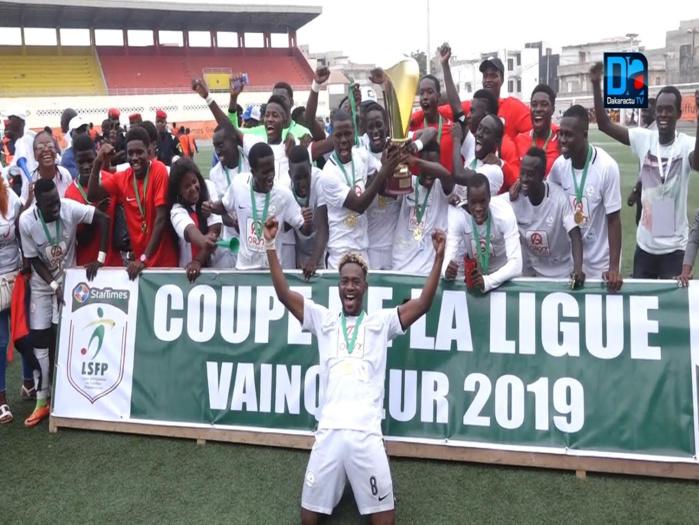 Finale : Diambars bat Génération Foot (2-1) et remporte la Coupe de la Ligue
