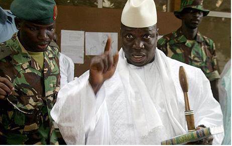Yaya Jammeh déclare avoir des problèmes avec Wade et non avec le peuple sénégalais.