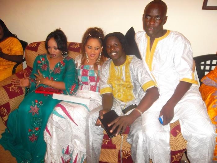 Les photos exclusives du mariage de Djily de Djily Créations et Nadège