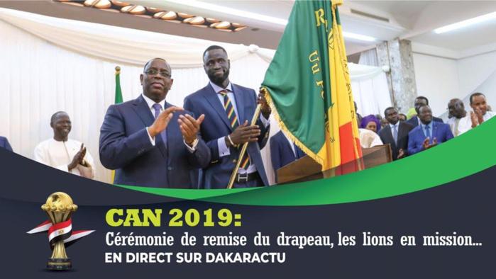 Cérémonie de remise du drapeau national au LIONS en DIRECT sur Dakaractu : Plateau spécial dès 16h30...