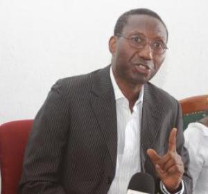 Me Doudou Ndoye, candidat à la présidentielle de 2012: «Ce ne sont pas des sages mais des magistrats du Conseil constitutionnel.»