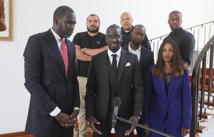 Audience au Palais : Macky Sall reçoit l'international français Mamadou Sakho