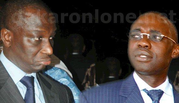 Réconciliation entre Abdoulaye Diop et Samuel Sarr.