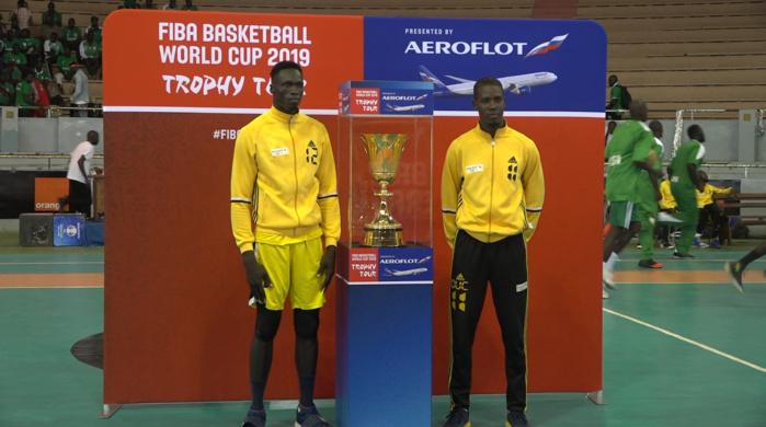 Stadium Marius Ndiaye : Le trophée de la Coupe du Monde de basket-ball masculin a été exposé