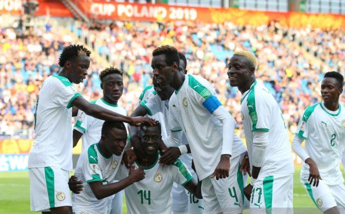 CM U20 1/4 de finale : Le Sénégal mène 1-0 face à la Corée du Sud à la mi-temps.