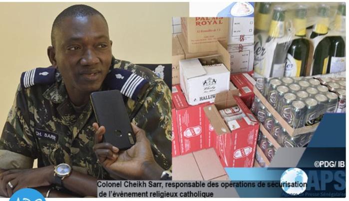 Popenguine : de l'alcool d'une valeur d'un million de francs saisi