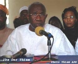 Quand Iba Der Thiam s'en prend aux professeurs Kader Boye et Seydou Madani Sy