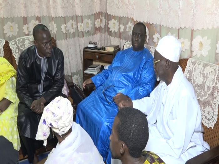 Rappel à Dieu de la grande sœur de Yakham Mbaye : Aliou Sall à Kaolack pour présenter ses condoléances.