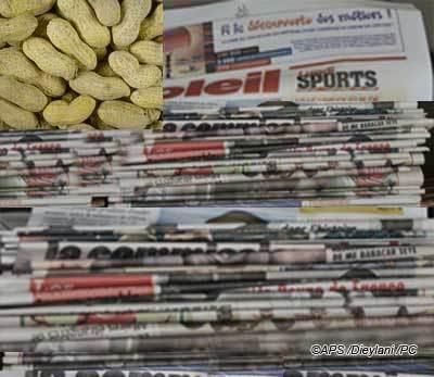 Le financement de la traite de l'arachide à la Une