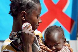 Etude sur le sida au Sénégal.