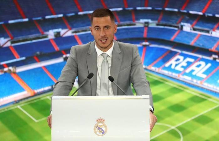 Real Madrid : Eden Hazard officiellement présenté !
