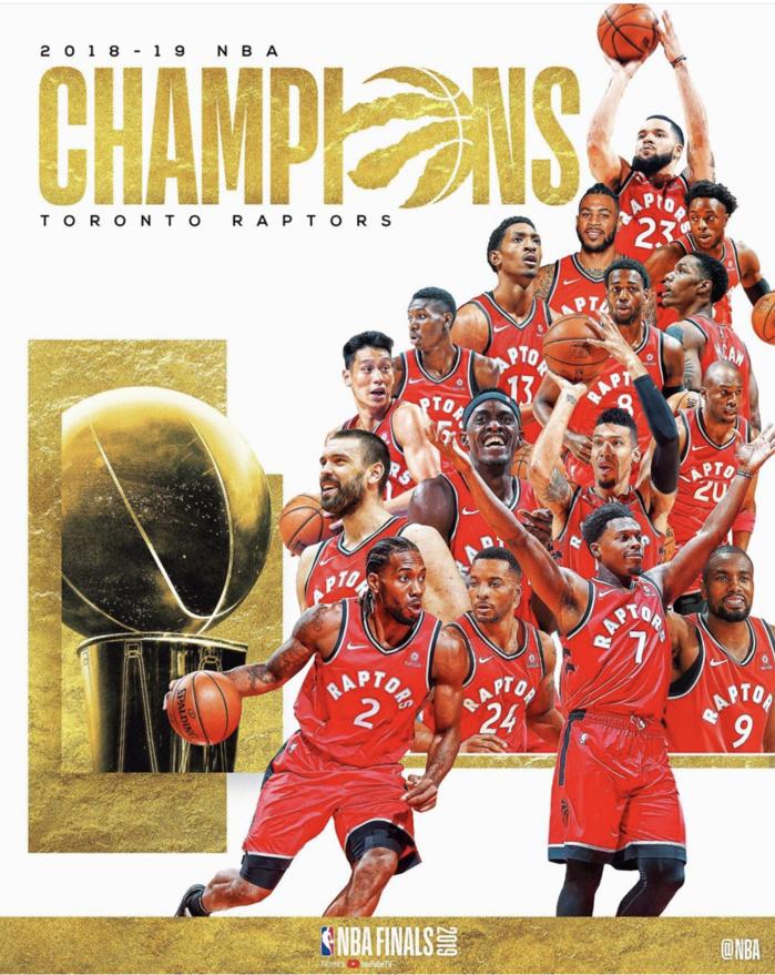 Les Raptors de Toronto champions de la NBA