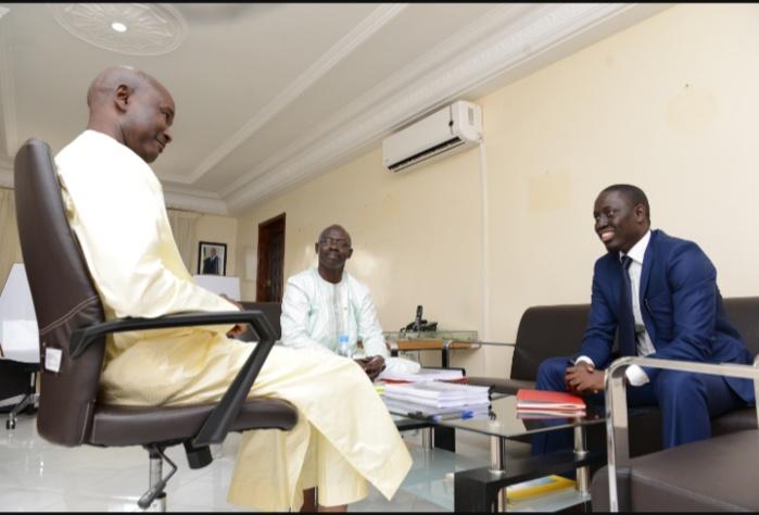Prodac / Passation de service : Papa Malick Ndour remplace Mamina Daffé «J'invite le personnel à restaurer avec moi la valeur travail»
