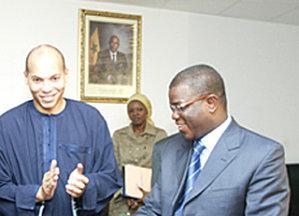 Karim Wade/Abdoulaye Baldé : de l'électricité dans l'air.