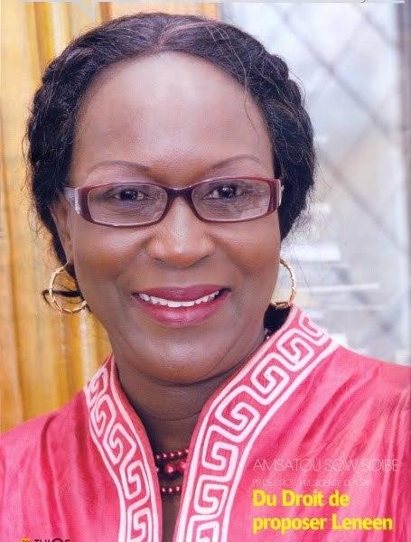 Le PR Amsata Sow Sidibé  invite Youssou Ndour à la soutenir