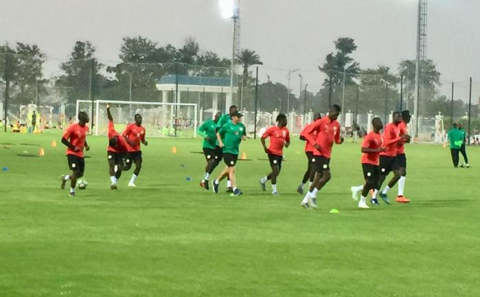 Lendemain de Sénégal-Nigéria (1-0) : Séance d'entraînement spécifique pour les remplaçants du match amical