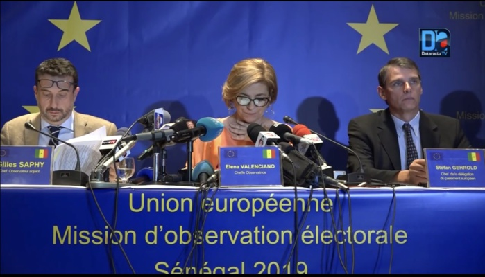 Rapport final sur le processus électoral : La mission d'Observation de l'UE dissèque les points forts du Sénégal.
