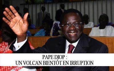 Pape Diop, un volcan bientôt en éruption (Serigne Fadel Mbacke)