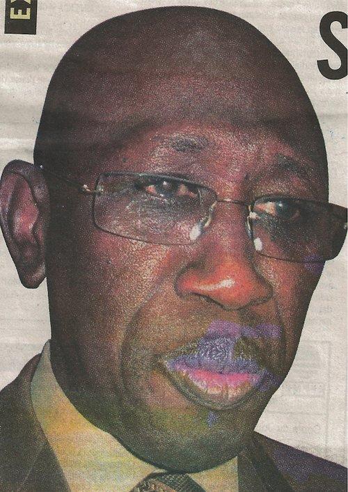Ngouda Fall Kane, l'ex-président de la Centif, à coeur ouvert.