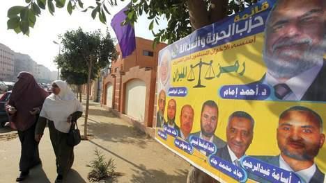 Les Frères musulmans en tête en Egypte