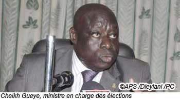 La caution est restituée aux candidats ayant au moins 5% des suffrages (ministre)