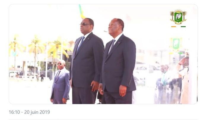 Côte d'Ivoire : Cinq Accords de coopération signés entre Alassane Ouattara et Macky Sall