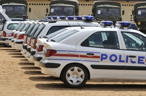La police bloquée pour non-paiement par les services de l'autoroute à péage