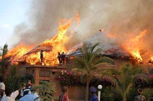 Incendie à Saly: les dégâts sont estimés à 17 milliards de francs CFA