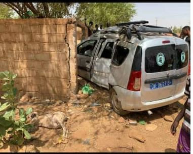 Kanel : Un véhicule heurte un mur et fait 3 morts