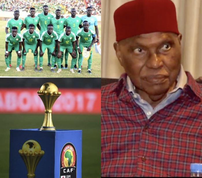 CAN 2019 : Le message d'encouragements du président Abdoulaye Wade aux Lions à la veille de leur première sortie