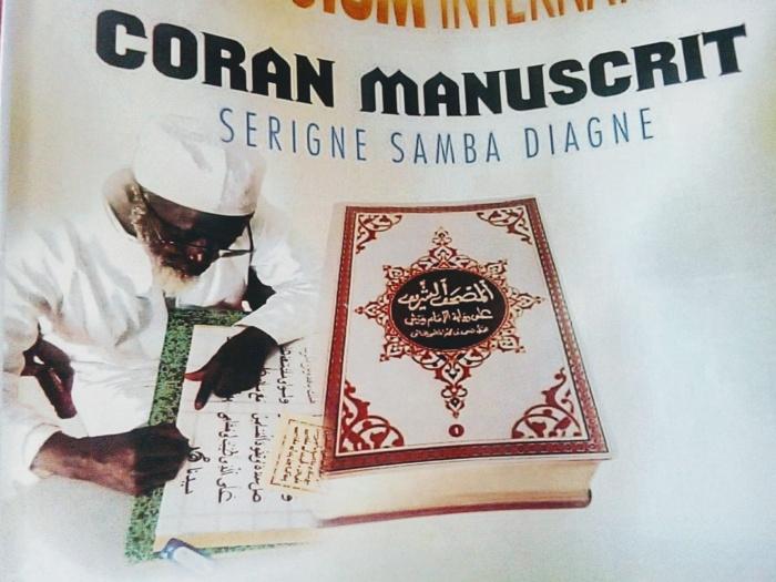 Saint-Louis : Le Coran manuscrit du grand érudit Serigne Samba Diagne validé sur tout le plan international par l'Institut Al-Azhar.
