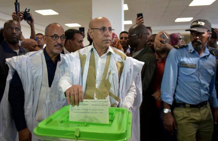 Présidentielle-Mauritanie : M.Cheikh El-Ghazouani revendique sa victoire.