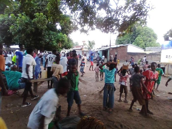 KOLDA : Liesse populaire après la victoire du Sénégal.