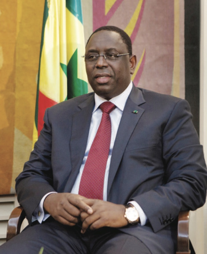 PRIX DE L'HOMME DE L'ANNÉE DU SECTEUR PÉTROLIER AFRICAIN : Africa Oil & Power porte son choix sur Macky Sall.