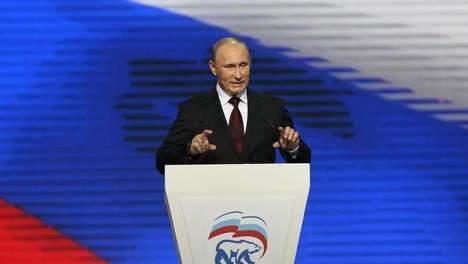 Le parti Russie unie de Poutine en tête selon un sondage