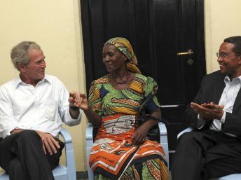 La demande d'arrestation de George W. Bush reste lettre morte en terre africaine