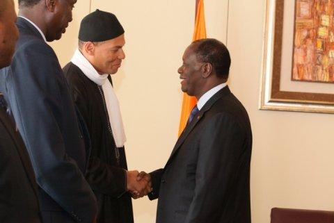 Sénégal/Côte d'Ivoire : Karim Wade pour une coopération accrue avec la Côte d'Ivoire.
