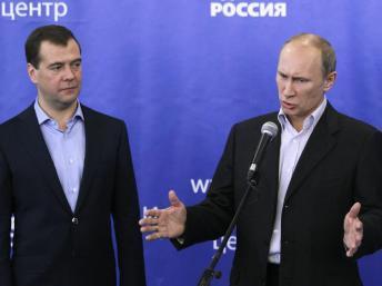 Législatives en Russie: mauvais résultat pour Poutine