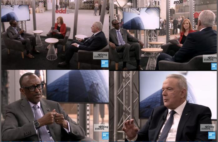 """Paul Kagamé recadre le commissaire européen à la Coopération et au développement : """"Vous devez arrêter avec votre complexe de supériorité... Pour qui vous vous prenez ?"""""""