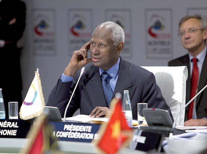 Abdou Diouf, secrétaire général de la Francophonie : 'Si le pouvoir judiciaire est déliquescent, il n'y a plus d'Etat de droit'