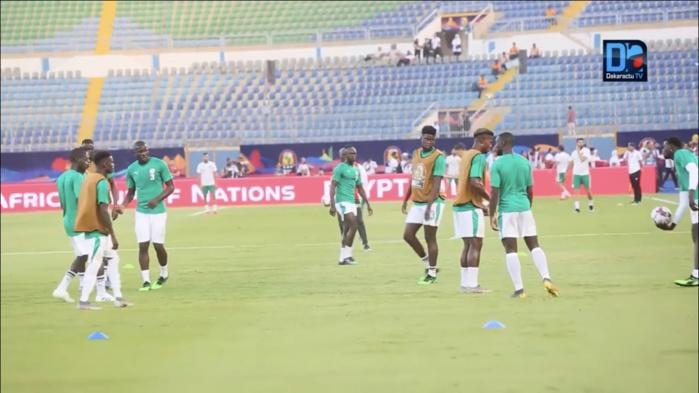 Sénégal – Kenya ; De la musique sénégalaise pour accompagner l'échauffement des joueurs