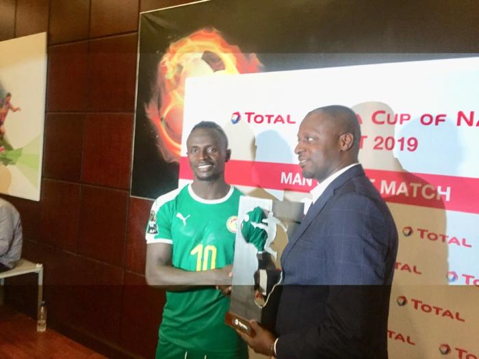 CAN 2019 / Sadio Mané élu homme du match contre le Kenya