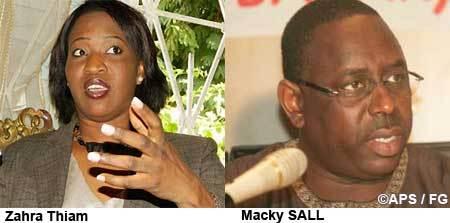 Présidentielle 2012: Macky Sall / Zahra Iyane Thiam, les coalitions se poursuivent.